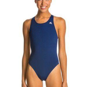 Adidas Solid V Back Swimsuit 28